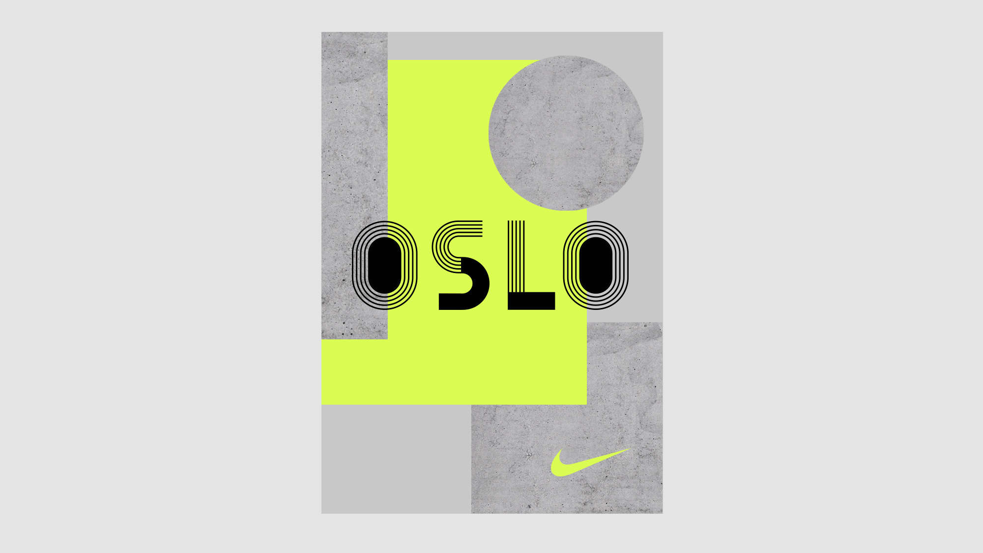 quality design 84ca2 649ba ... Nike Concept Store in Oslo. Can the identity of an entire city be  captured in a font And more importantly, where do you start to look for  inspiration